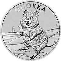 Australien : 1 Dollar Quokka   1 oz  2020 Stgl.
