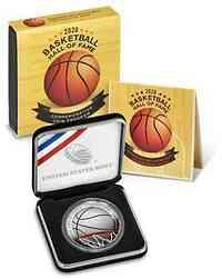 USA : 1/2 Dollar Basketball - Hall of Fame  2020 PP