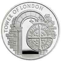 Großbritannien : 5 Pfund Der Tower von London – Münzen und Könige Piedfort  2020 PP