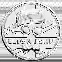 Großbritannien : 2 Pfund Elton John - Musiklegenden  2020 Stgl.
