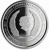 Saint Kitts : 2 Dollar Belagerung von Brimstone  2020 Stgl.