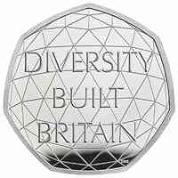 Großbritannien : 0,5 Pfund Feier der britischen Vielfältigkeit 2020 PP