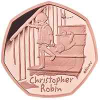 Großbritannien : 0,5 Pfund Winnie the Pooh Collection-Christopher Robin   2020 PP