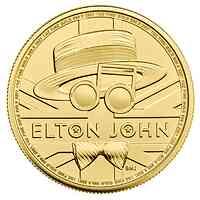 Großbritannien : 100 Pfund Elton John 1 Oz   2021 bfr