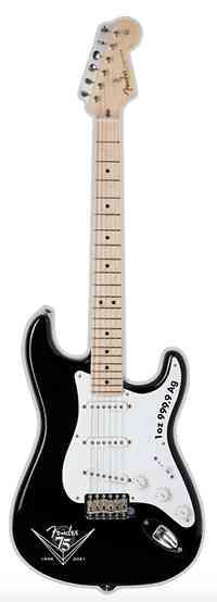 Solomon Islands : 2 Dollar Fender Stratocaster   2021 PP
