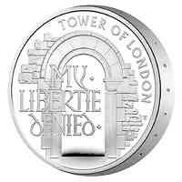 Großbritannien : 5 Pfund Der Tower von London – Staatsgefängnis   2020 PP