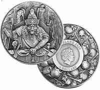 Niue : 5 Dollar Vlad III. Dracula - Der Pfähler   2020 Stgl.
