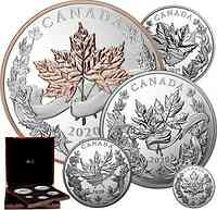 Kanada : 475 Dollar Maple Leaf - Masters Collection  2020 PP