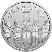 Kanada : 10 Dollar O Canada!-Changing of the Guard #4  im Einzelet.  2020 Stgl.