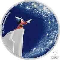 Niue : 2 Dollar Disney/80 J. Fantasia-Zauberlehrling/Sterne #2  2021 PP
