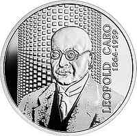 Polen : 10 Zloty Leopold Caro - Ökonom  2020 PP