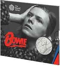 Großbritannien : 5 Pfund David Bowie - Musiklegenden  Blister  2020 Stgl.