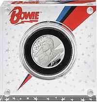 Großbritannien : 1 Pfund David Bowie - Musiklegenden    1/2 oz  2020 PP