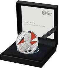 Großbritannien : 2 Pfund David Bowie - Musiklegenden   1 oz  2020 PP