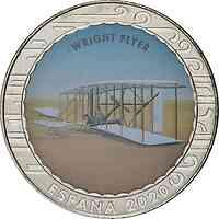 Spanien : 1,5 Euro Wright Flyer  2020 bfr