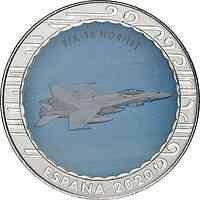 Spanien : 1,5 Euro F/A-18 Hornet  2020 bfr