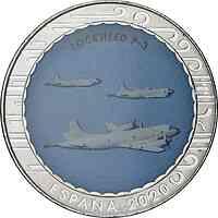 Spanien : 1,5 Euro Lockheed P-3  2020 bfr
