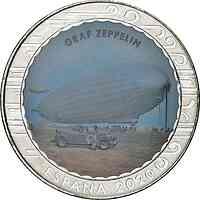 Spanien : 1,5 Euro Graf Zeppelin  2020 bfr