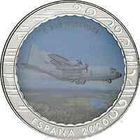 Spanien : 1,5 Euro C-130 Hercules  2020 bfr