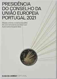 Portugal : 2 Euro EU-Präsidentschaft  2021 Stgl.