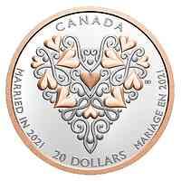 Kanada : 20 Dollar Die besten Glückwünsche zum Hochzeitstag   2021 PP