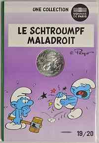 Frankreich : 10 Euro ungeschickt 19/20  2020 Stgl.