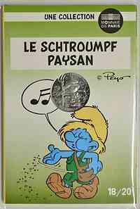 Frankreich : 10 Euro Bauer 18/20  2020 Stgl.