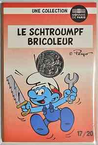 Frankreich : 10 Euro Handwerker 17/20  2020 Stgl.