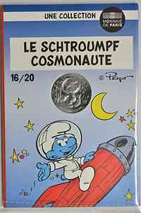 Frankreich : 10 Euro Astronaut 16/20  2020 Stgl.