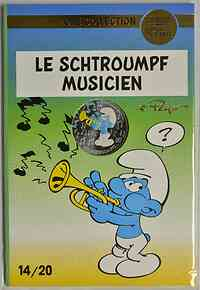 Frankreich : 10 Euro Musiker 14/20  2020 Stgl.