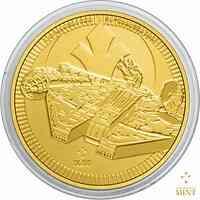 Niue : 250 Dollar Star Wars - Millennium Falke Bullion  2021 Stgl.