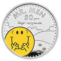 Großbritannien : 2 Pfund 50 Jahr Mr. Men Little Miss-Mr Happy   2021 PP