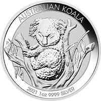 Australien : 1 Dollar Koala 1 oz  2021 Stgl.
