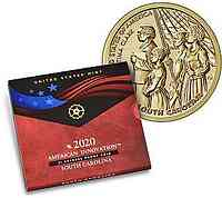 USA : 1 Dollar Amerik. Innov./Septima Clark/South Carolina  2020 PP