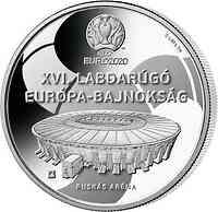 Ungarn : 10000 Forint Fußball EM 2021 PP