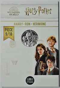 Frankreich : 10 Euro Ron, Harry & Hermione 9/18  2021 Stgl.