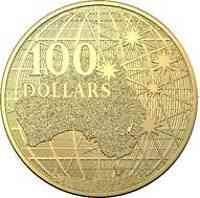 Australien : 100 Dollar Beneath the Southern Skies-Platypus 1oz-Kapsel  2021 Stgl.