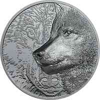 Mongolei : 500 T Mystic Wolf  2021 Stgl.