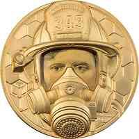Cook Islands : 250 Dollar Wahre Helden - Feuerwehrmann 2021 PP