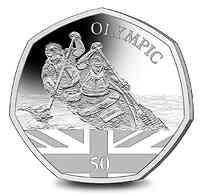Gibraltar : 0,5 Pfund Olympische Spiele in Tokio - Kanusport  2021 PP