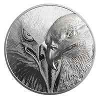 Mongolei : 20000 T Majestätischer Adler Silber Kilo   2021 PP