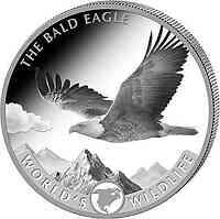 Kongo : 20 Fr Weißkopfseeadler  2021 Stgl.