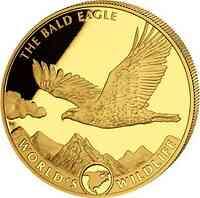 Kongo : 10 Fr Weißkopfseeadler  2021 Stgl.