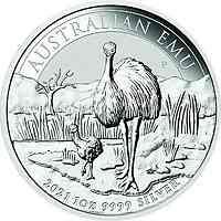 Australien : 1 Dollar Emu  2021 Stgl.