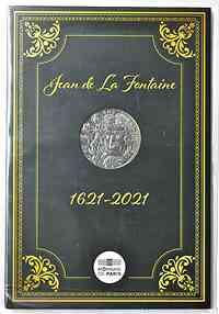 Frankreich : 10 Euro Jean de la Fontaine  2021 Stgl.