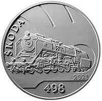 Tschechische Republik : 500 Kronen Skoda 498 Dampflokomotive ´Albatros´ 2021 Stgl.