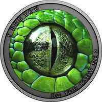 Niue : 1 Dollar Kennst Du mich - Antik Finish   2021 Stgl.