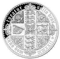 Saint Helena : 2 Pfund The Gothic Crown 2oz Silver  2022 PP