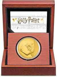 Niue : 250 Dollar Dobby der Elf - Harry Potter Classics 1 oz  2021 PP