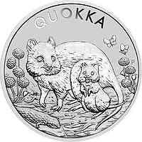 Australien : 1 Dollar Quokka   1 oz  2021 Stgl.
